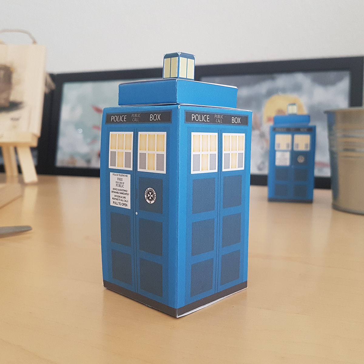 dr who box