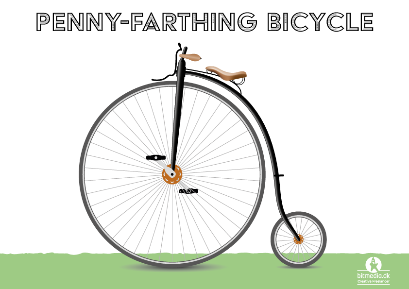 Penny-Farthing-bicycle