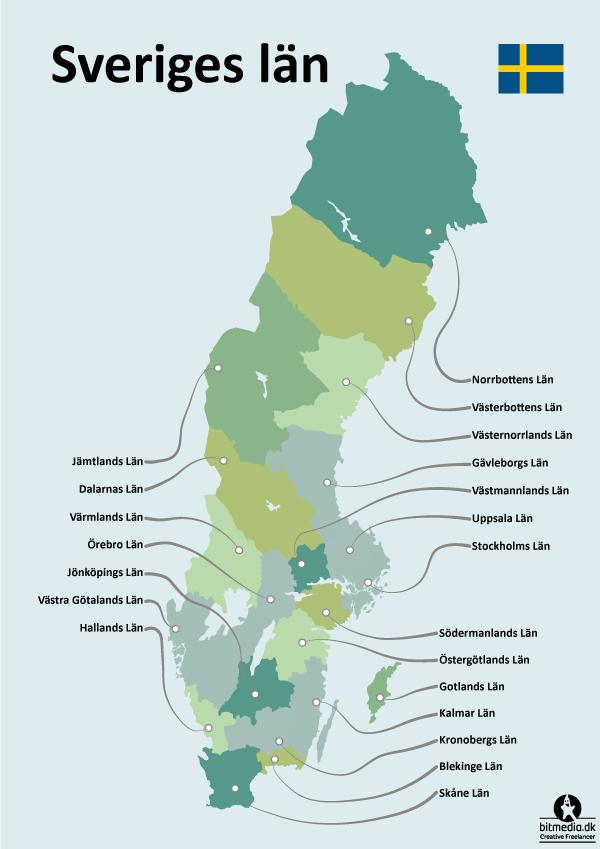 Län i Sverige