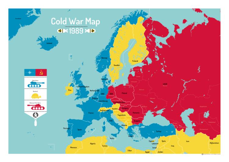 Den Kolde Krig Kort