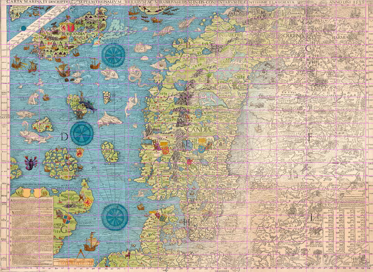 carta marina project