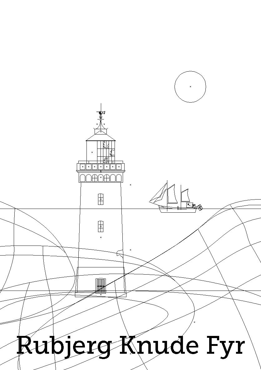 rubjerg-knude-fyr-plakat-outline
