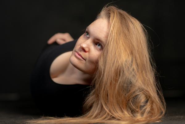 Skuespiller Tine Hammerbo