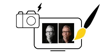 Portrætter og fotografering